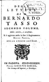 Delle lettere di M. Bernardo Tasso: Volume 2