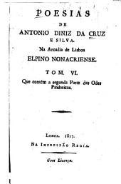Segunda parte das Odes pindaricas