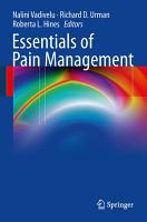 Essentials of Pain Management PDF