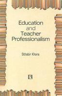 Education and Teacher Professionalism PDF