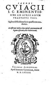 Jacobi Cuiacii ... In Iulii Pauli Receptarum Sententiarum ad filium lib(ri) 5. Interpretationes (etc.)