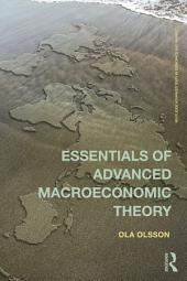 Essentials of Advanced Macroeconomic Theory
