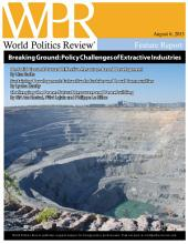 Breaking Ground: Policy Challenges of Extractive Industries