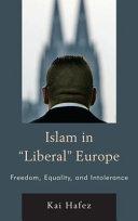 Islam in  Liberal  Europe PDF