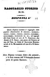 Ragguaglio storico di quanto è avvenuto in Roma e in tutte le provincie dello Stato pontificio in seguito del perdono accordato dalla santità di N. S. papa Pio 9. come dal suo editto del 16 luglio 1846: Volume 4