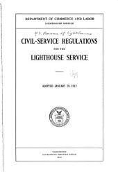 Civil-service Regulations for the Lighthouse Service