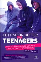 Getting on Better with Teenagers PDF