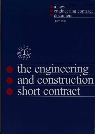 Engineering and Construction Short Contract PDF