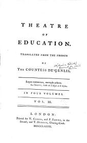 Theatre of Education: Volume 3