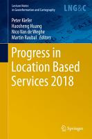 Progress in Location Based Services 2018 PDF