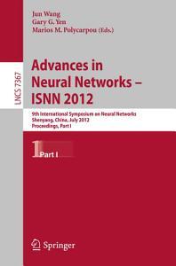 Advances in Neural Networks     ISNN 2012 PDF