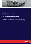 The Proverbs of Solomon PDF