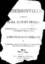 Andersonville Book PDF
