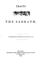 Tracts on the Sabbath