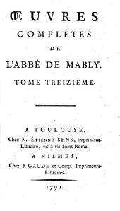 Oeuvres complètes: Volume13