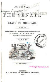 Journal of the Senate of the State of Michigan: Volume 2