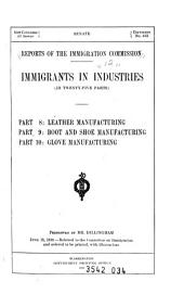 Immigrants in industries