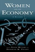 Women and the Economy  A Reader PDF