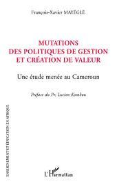 Mutations des politiques de gestion et création de valeur