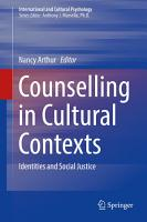 Counselling in Cultural Contexts PDF