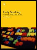 Early Spelling