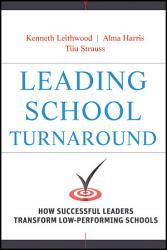 Leading School Turnaround Book PDF