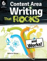 Content Area Writing that Rocks  and Works   PDF