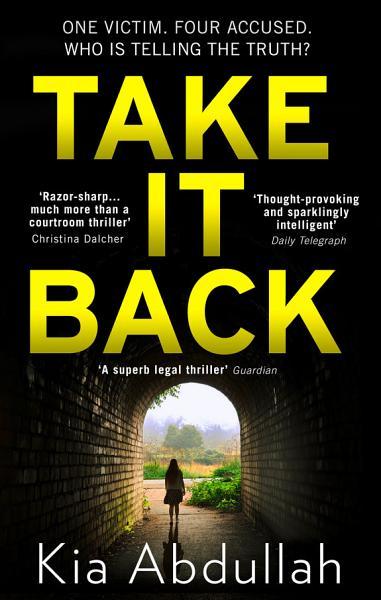 Download Take It Back Book