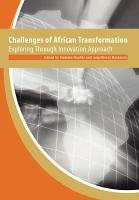 Challenges of African Transformation PDF