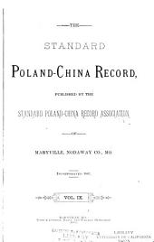 The Standard Poland-China Record: Volume 9