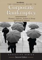 The Executive Guide to Corporate Bankruptcy PDF