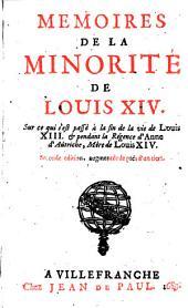 Mémoires de la minorité de Louis XIV