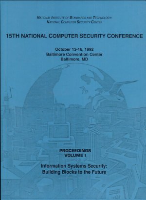 National Computer Security Conference Proceedings  1992 PDF