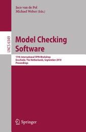 Model Checking Software: 17th International SPIN Workshop, Enschede, The Netherlands, September 27-29, 2010, Proceedings