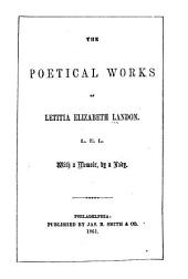 The Poetical Works of Letitia Elizabeth Landon