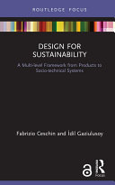 Design for Sustainability (Open Access)