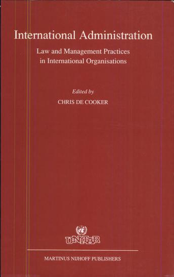Intertional Administration PDF