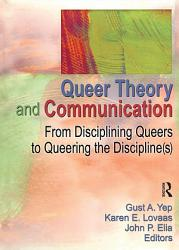 Queer Theory And Communication Book PDF