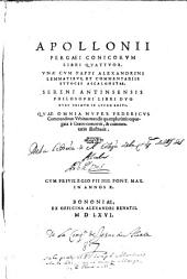 Apollonii Pergaei Conicorum libri quattuor