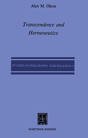Transcendence and Hermeneutics PDF