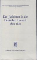 Das Judentum in der deutschen Umwelt PDF