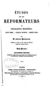 Saint-Simon. Charles Fourier. Robert Owen