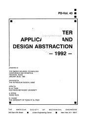 Computer Applications and Design Abstraction  1992 PDF