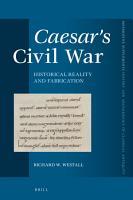 Caesar s Civil War PDF