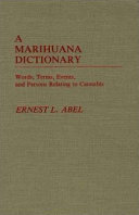 A Marihuana Dictionary PDF
