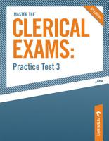 Master the Clerical Exams  Practice Test 3 PDF