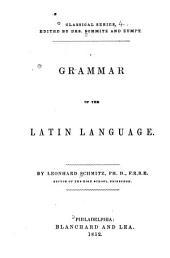 Grammar of the Latin Language