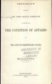 Report of and Testimony: Volume 11