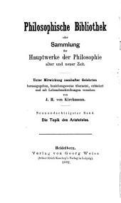 Die Topik des Aristoteles: Bände 89-94