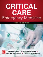 Critical Care Emergency Medicine, Second Edition: Edition 2